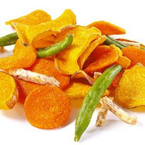 Snacks & chips raw bio